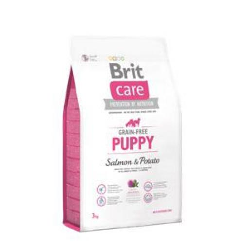 Brit Care Puppy Grain Free Salmon Y Patata Pienso Perro