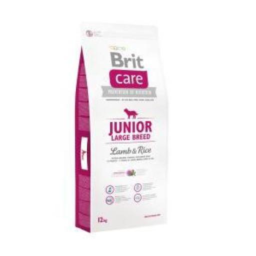 Brit Care Junior Cordero Y Arroz Pienso Perro Razas Grandes