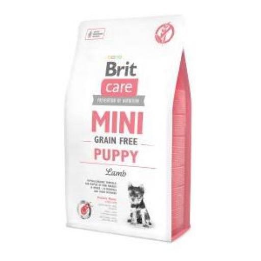 Brit Care Grain Free Puppy Cordero Razas Mini