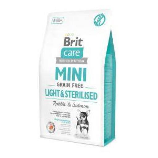 Brit Care Grain Free Light/Sterilised Pienso Perro Razas Mini