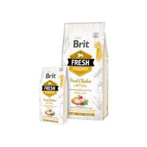 Brit Fresh Perro Adulto Great Life Pollo Y Patata