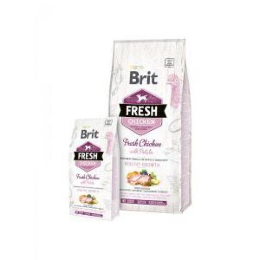 Brit Fresh Puppy Healthy Growth Pollo Y Patata