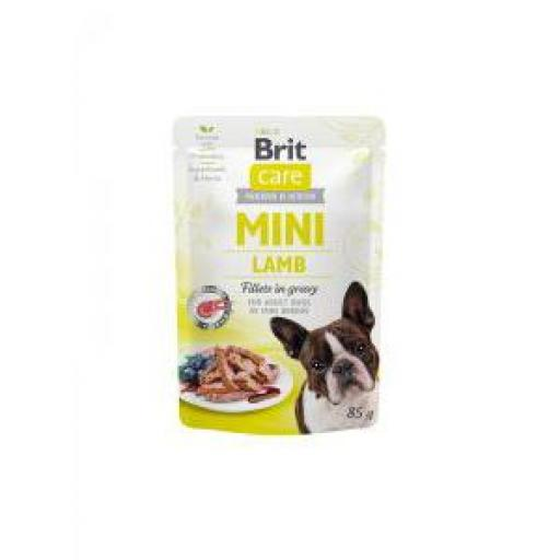 Brit Care Mini Dog Filetes De Cordero (24 x 85 grms.)