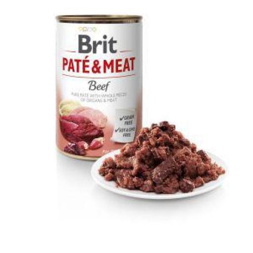 Brit Pate Carne De Ternera Perros