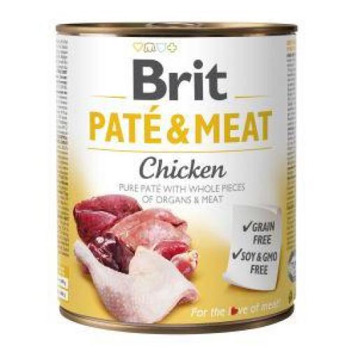 Brit Pate Carne De Pollo Perros