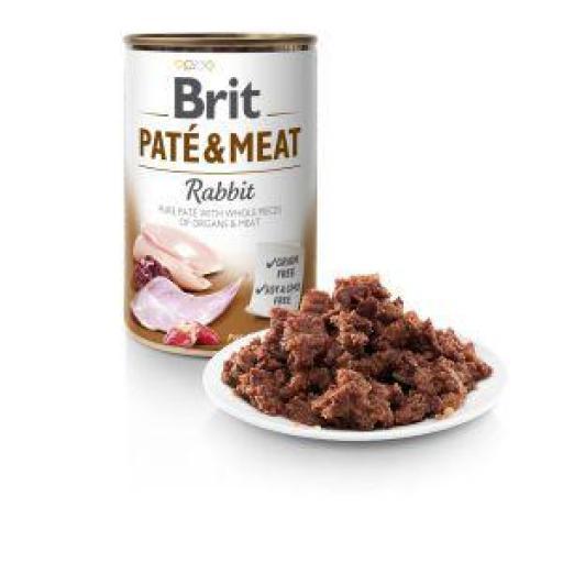 Brit Pate Carne De Conejo Perros