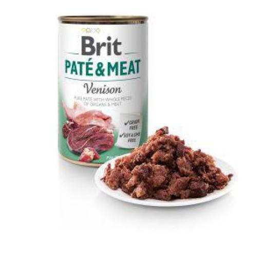 Brit Pate Carne De Venado Perros