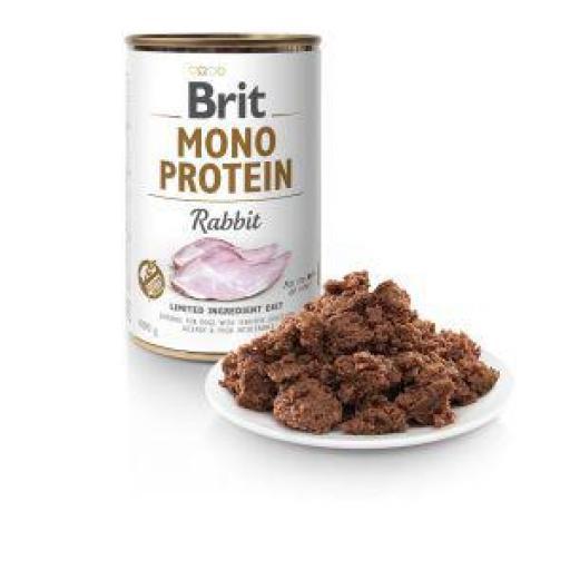 Brit Mono Protein Conejo Latas Perro