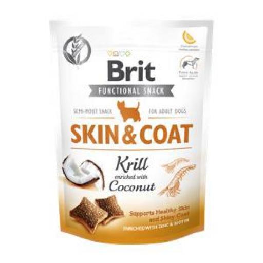 Brit Care Snack Skin And Coat Perros
