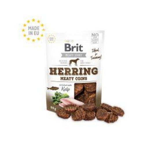 Brit Jerky Snack Monedas Arenque