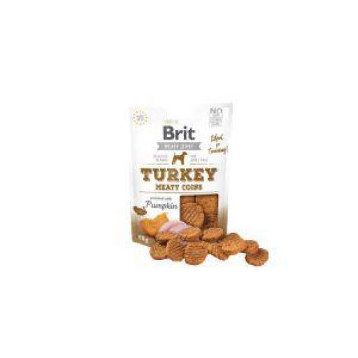 Brit Jerky Snack Monedas Pavo