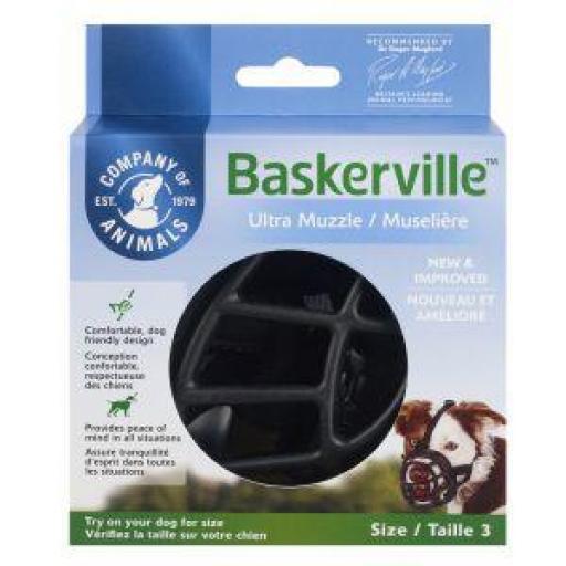 Bozal Baskerville Ultra Muzzle Negro