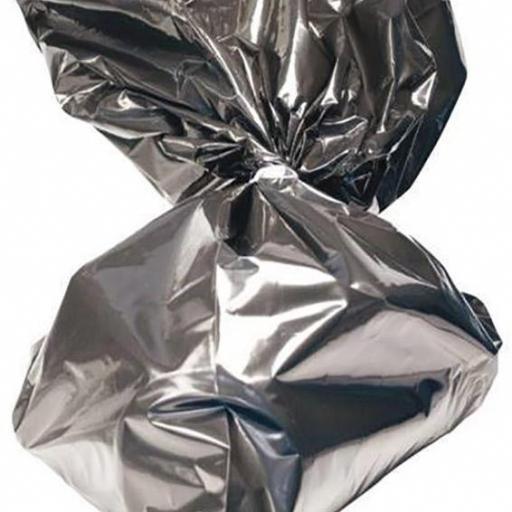"""Bolsas Cadaveres Negra """"XL"""" 140 x 76 cms. 105 micras (20 bolsas)"""