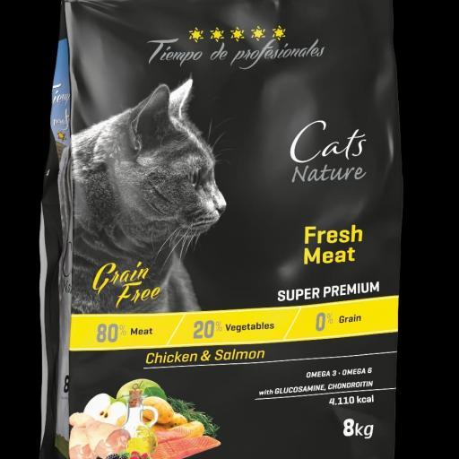 """Chicken & Salmón Feline Tiempo de Profesionales """"Grain Free"""""""