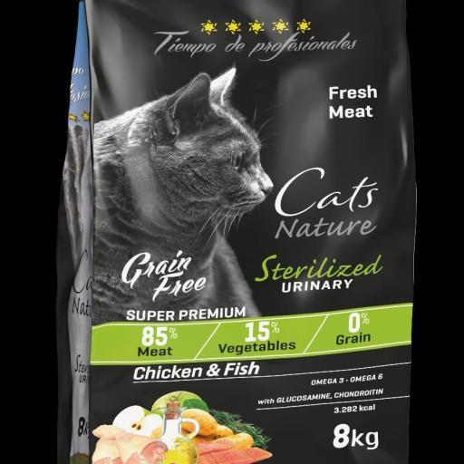 """Sterilizados & Urinary Feline Tiempo de Profesionales """"Grain Free"""""""