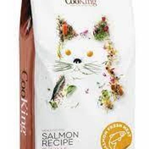 Cooking Gatos Grain Free Adult Salmón