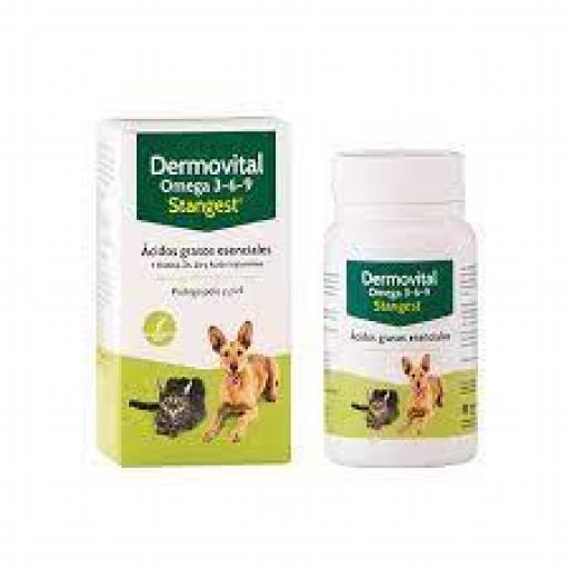DERMOVITAL OMEGA 3-6-9 CAPSULAS Problemas piel y pelo Perros y Gatos