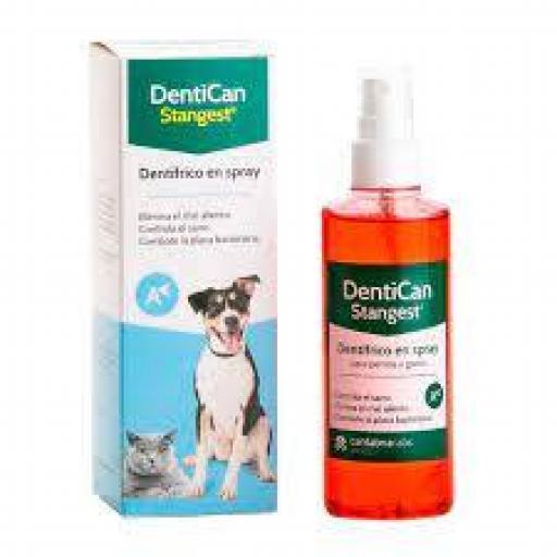 Stanvet Spray Dentífrico Dentican Mascotas