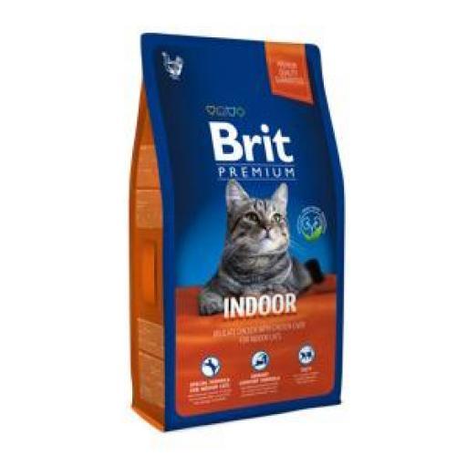 Brit Premium Indoor Pienso Gatos