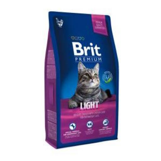 Brit Premium Light Pienso Gatos