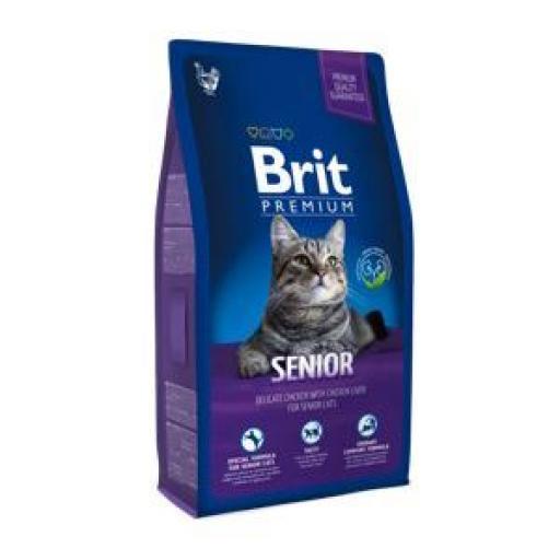 Brit Premium Pienso Gatos Senior