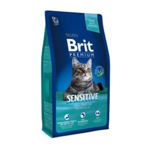 Brit Premium Sensitive Pienso Gatos