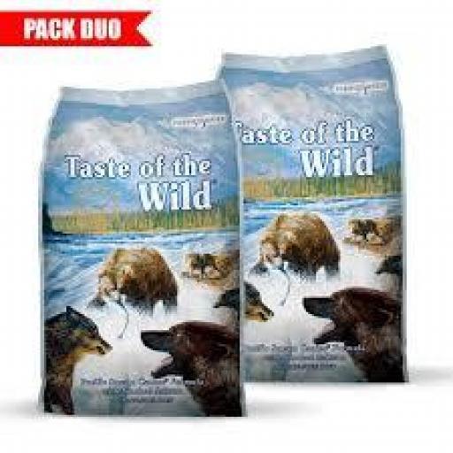 Duo (1+1) Pack Taste Of The Wild Perro (Grain Free)
