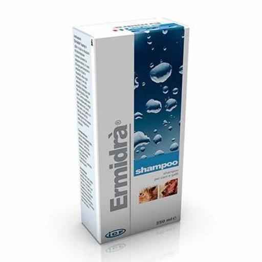 ERMIDRA CHAMPU 250 ml Dermatitis con Picor en Perros y Gatos