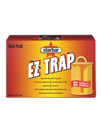 EZ TRAP Trampa Atrapamoscas (2 unidades)