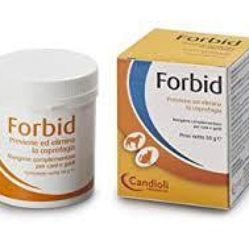FORBID Polvo 50 grms. Prevención Coprofagia