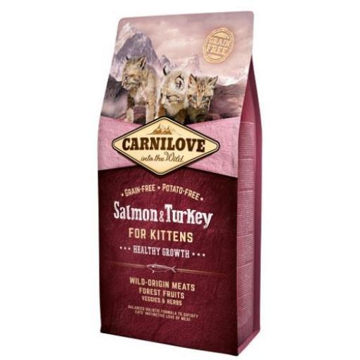 CARNILOVE Feline Kitten Salmon & Pavo Grain Free