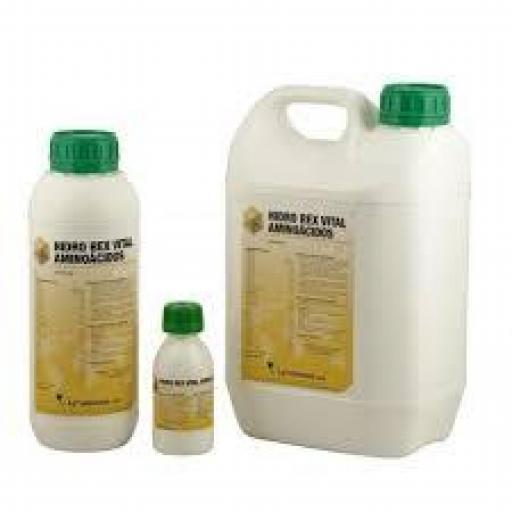 HIDRO REX VITAL 1 y 5 litros (Aminoácidos Vitamínico Oral)