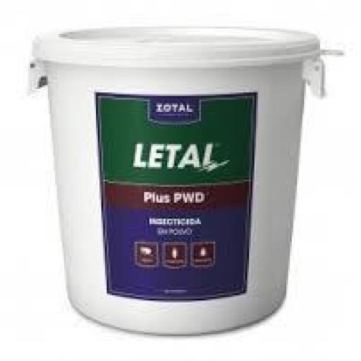LETAL PLUS PWD 1 KG. Insecticida y Acaricida en Polvo (Deltametrina y Cipermetrina)