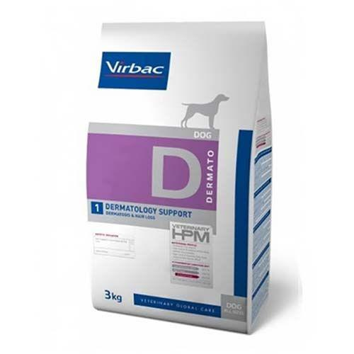 Virbac HPM Perro D1 Dermatology Support