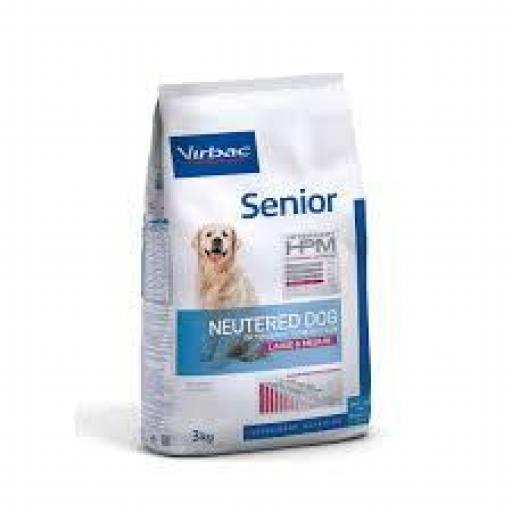 Virbac HPM Senior Neutered Dog Large & Medium