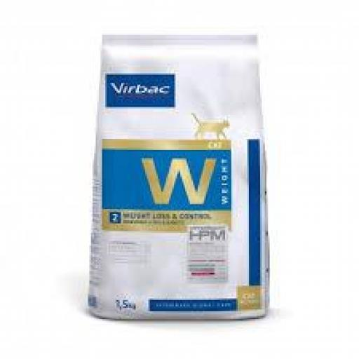 Virbac HPM Gato W2 Weight Loss & Control