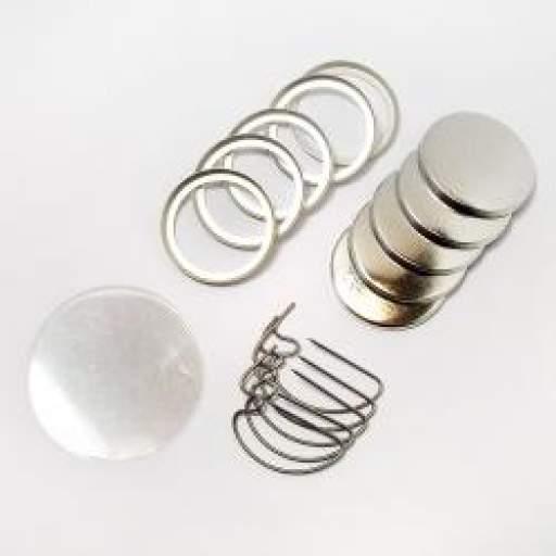 Componentes chapas 25 mm D-pin [1]