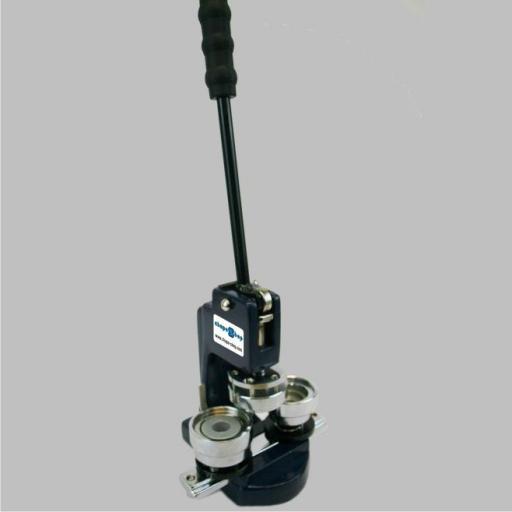 Máquina mini 25 mm moldes intercambiables