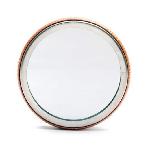 Chapas con espejo 58 mm