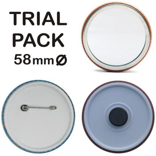 Pack de prueba 58 mm