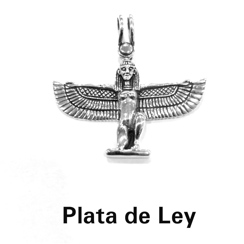 Colgante Diosa Isis plata