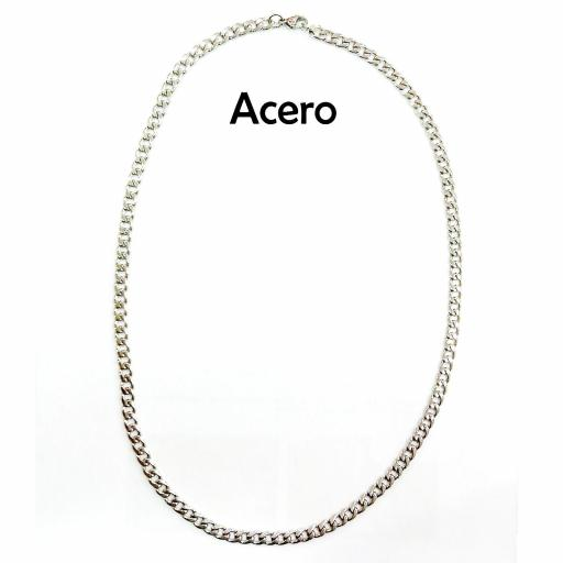 Collar acero 5 mm - 52 cm