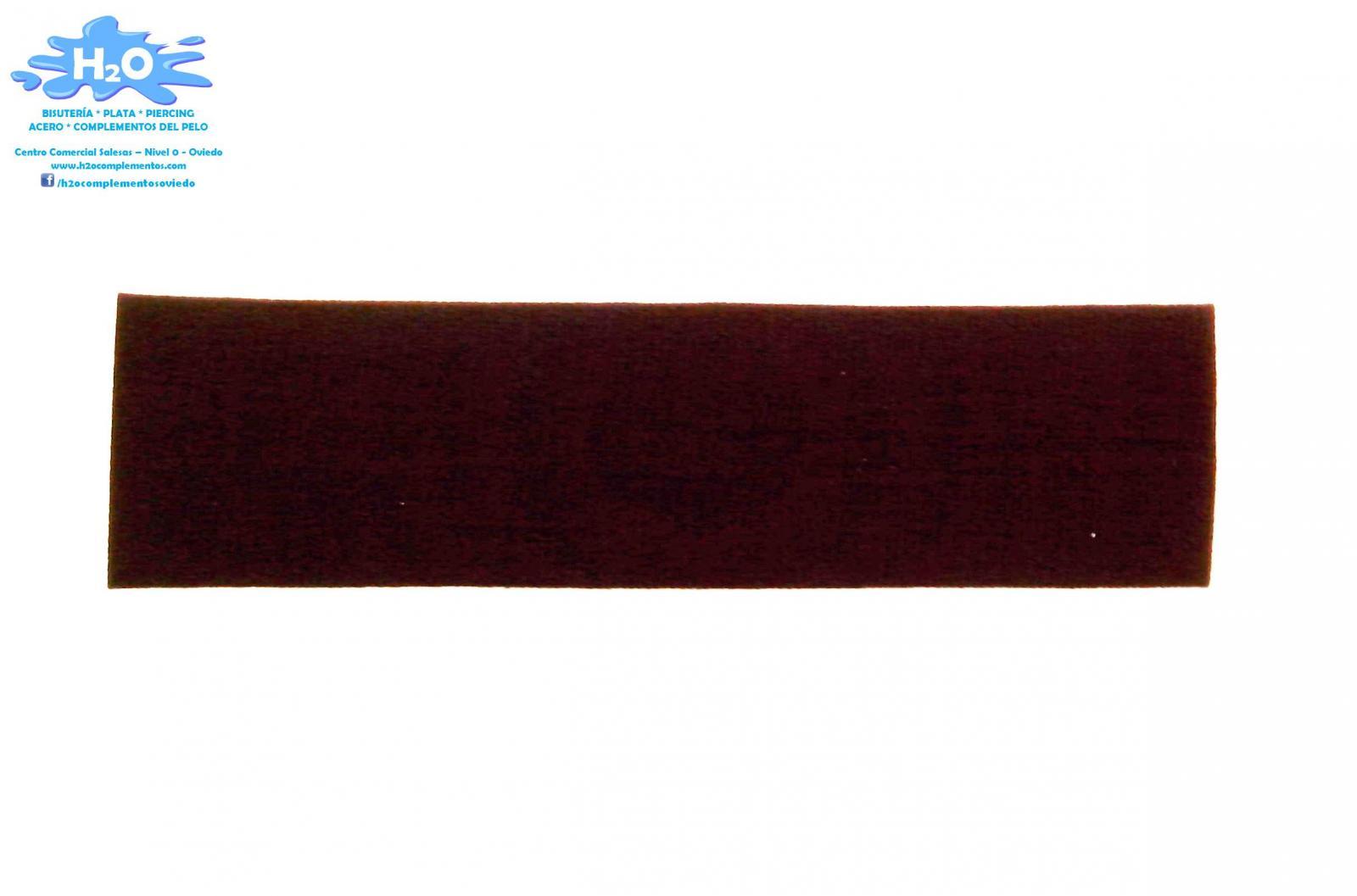 Turbante espuma marrón