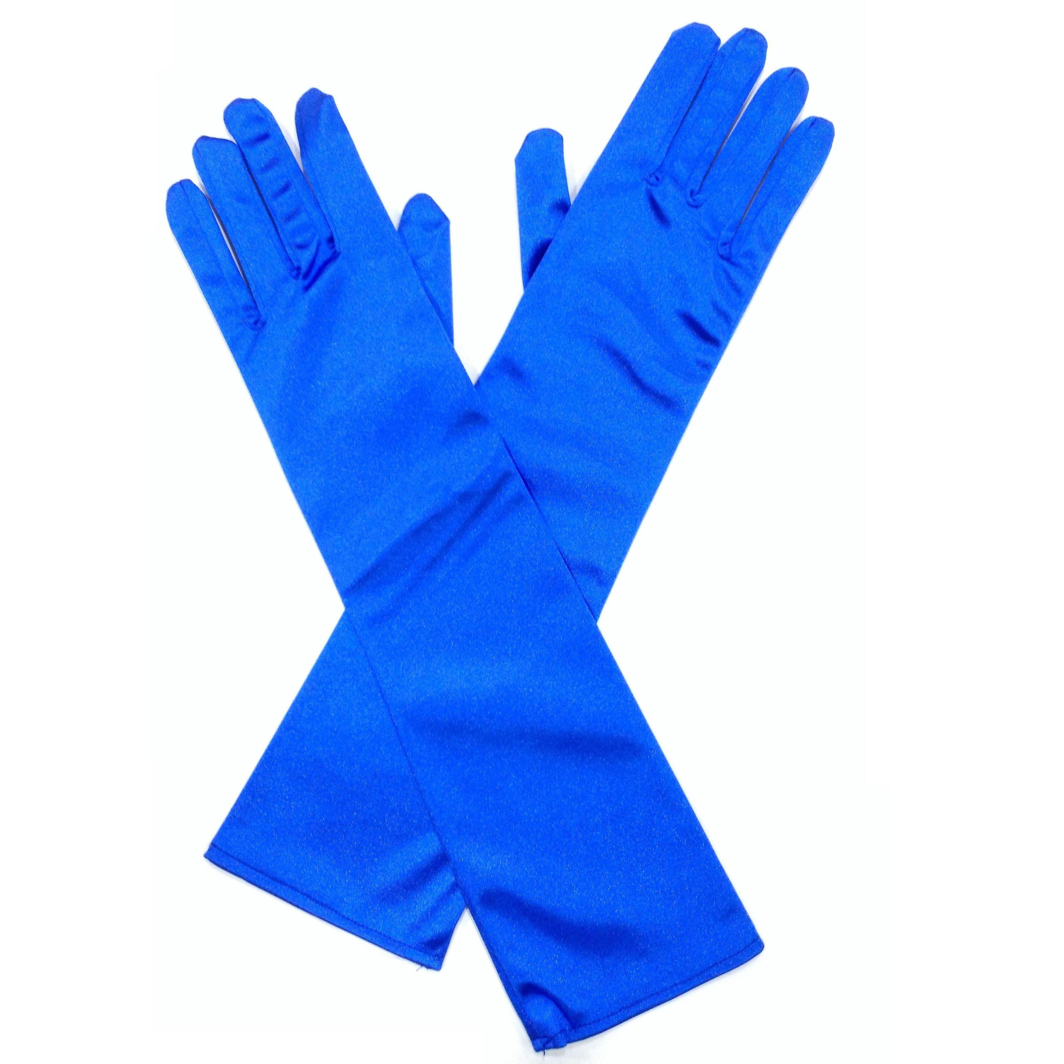 Guantes fiesta azul klein