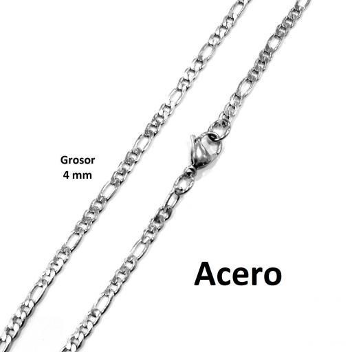 Collar acero 3x1 4 mm - 60 cm [1]