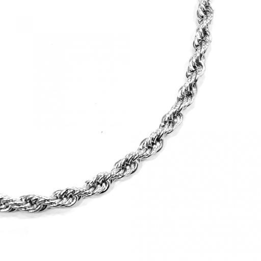 Collar cordón enroscado acero 5 mm [1]