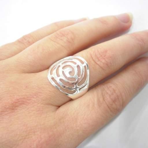 Anillo plata espiral [1]