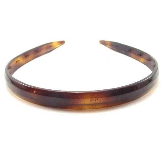 Diadema acetato  marrón