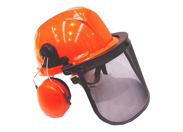 Casco completo protección con auriculares