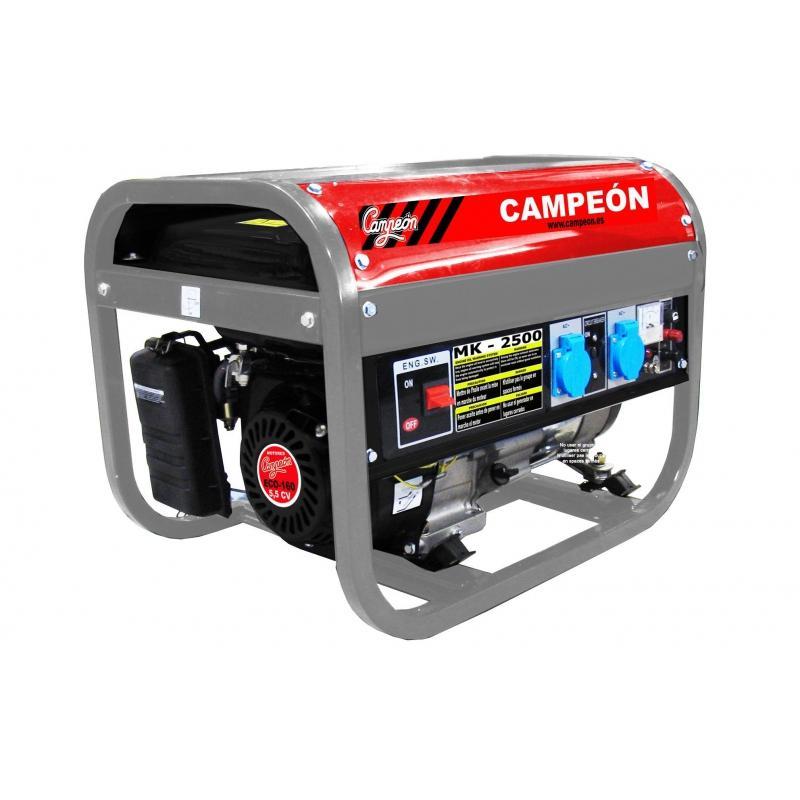 Generador Campeón 4 tiempos MK2500 5,5CV 163cc